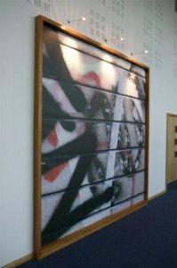Graffitti themed image boards